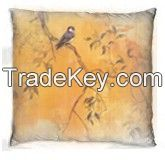 Digital printed cushion with nice bird design