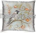Decorative cuishon with nice bird design