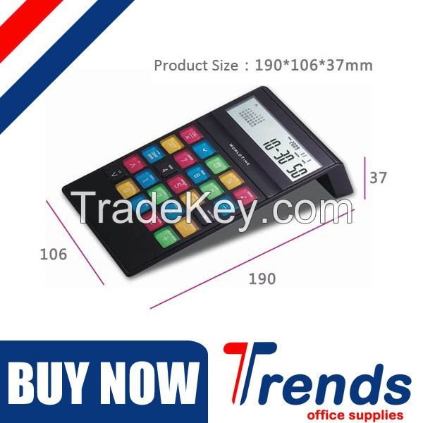 CE Rohs approved currency converter 8 digit electronic calculator