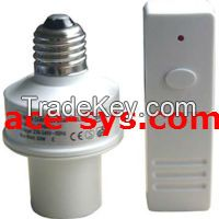 Remote Control Lamp Holder with Remote
