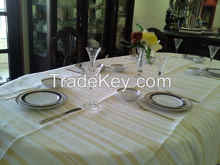 Egyptian Hand loomed Table Cloth
