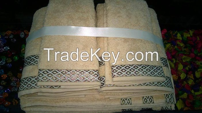 Egyptian Cotton Terry Beach Towels
