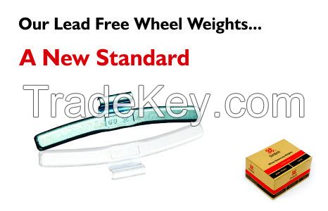 Lead Free Wheel Balancing Weights