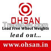 Lead Free Wheel Balancing Weights