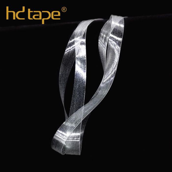 Garment accessories clear tpu elastic tape