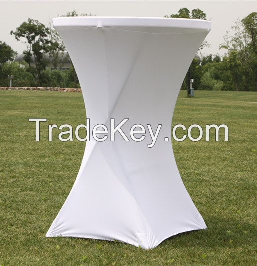 cocktail spandex table cover, bar table cover