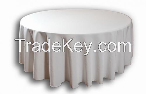100%MJS Spun Polyester Table Cloth