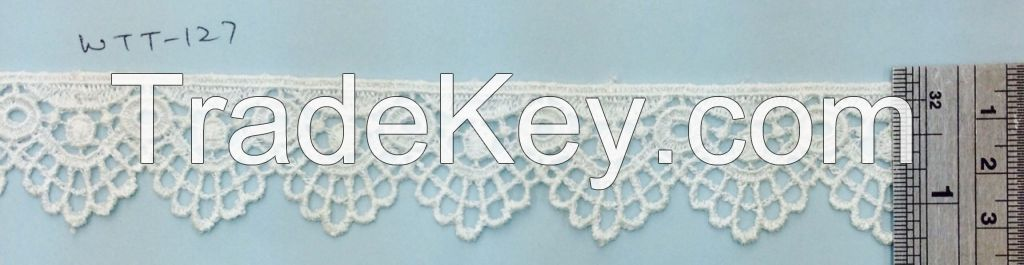 Embroidery Laces in different Type and design and color