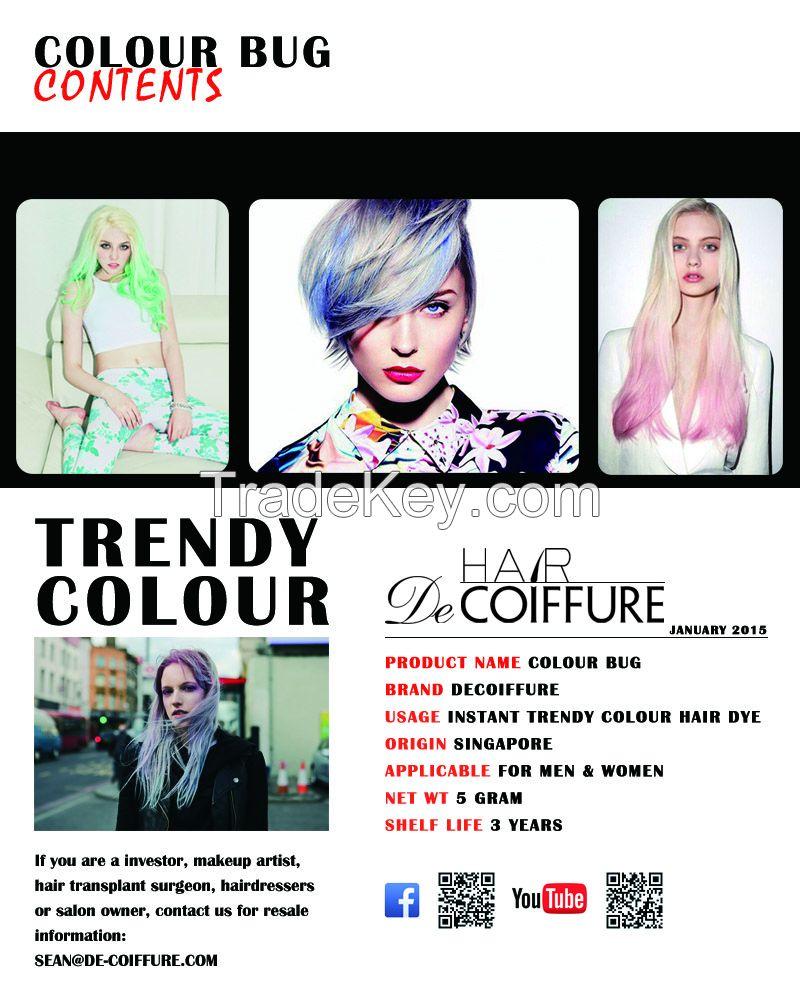 Hair Colour Bug(hair chalk, hair tint)