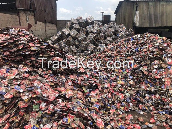 Aluminium UBC scrap available in large quantities