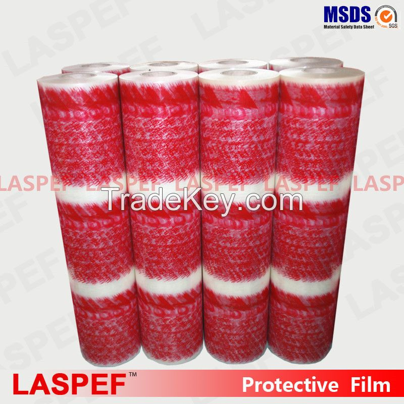 LASPEF High quality pe protective film, plastics films, big roll protective tape