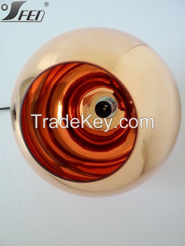 2015 Tom Dixon Copper shade pendant lighting