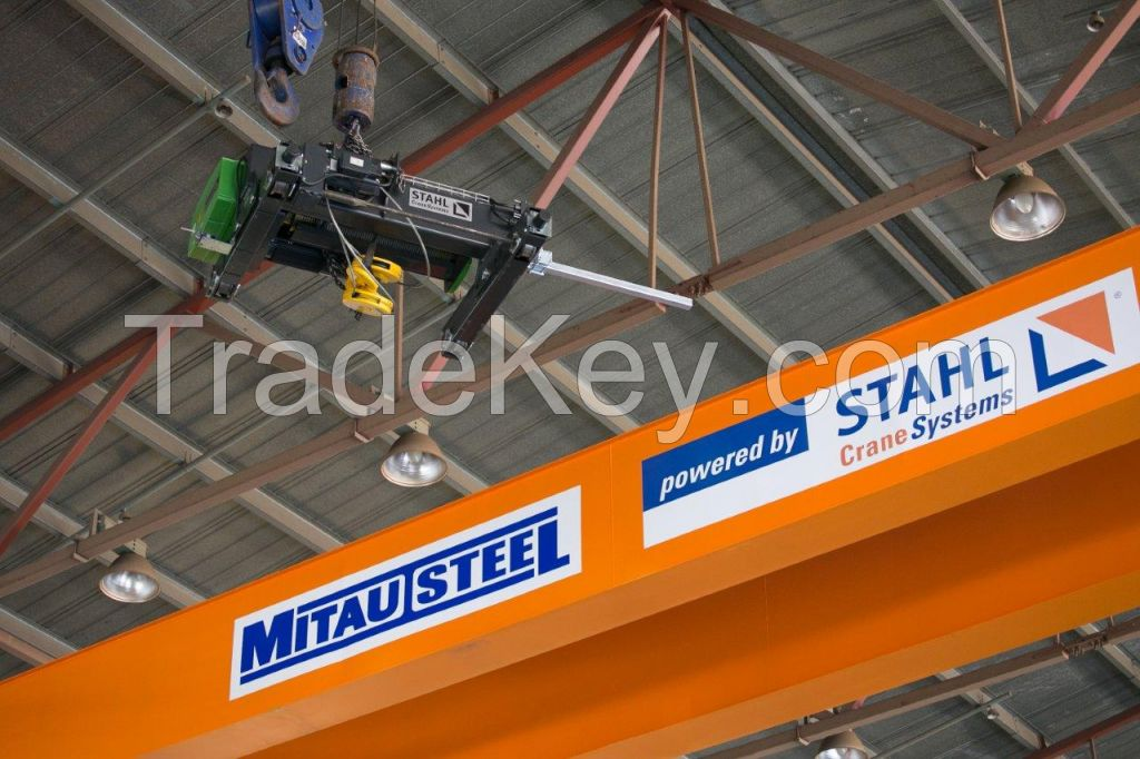 Steel crane girders and Complete crane systems (powered by Stahl Crane Systems)