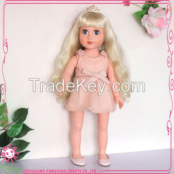 High Quality 18 Inch Plastic Doll Wholesale