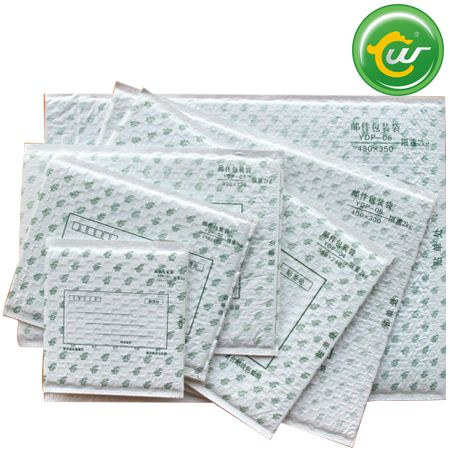 Can print heatproof with TUV metallic bubble envelopes