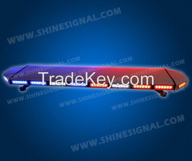 LED lightbar, warning lightbar for police vehicle