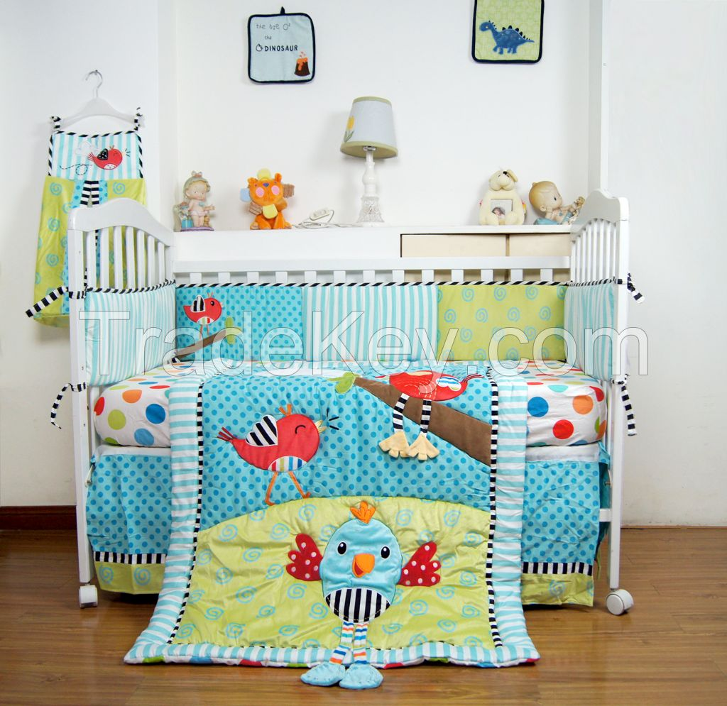 Cartoon Baby Bedding Set