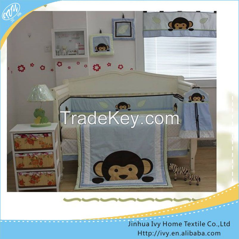 High quality baby bedding sets zebra print bedding sets