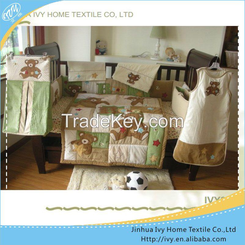 nursery newborn baby crib skirts