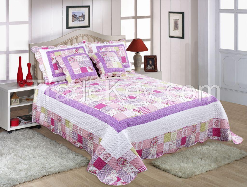 Reactive 3d printed wedding comforter set