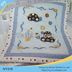 No Fade Cotton Soft Designer Baby Quilts wholesale cloth diaper nappys