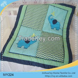 printing baby bedding set quilt wholesale pillow