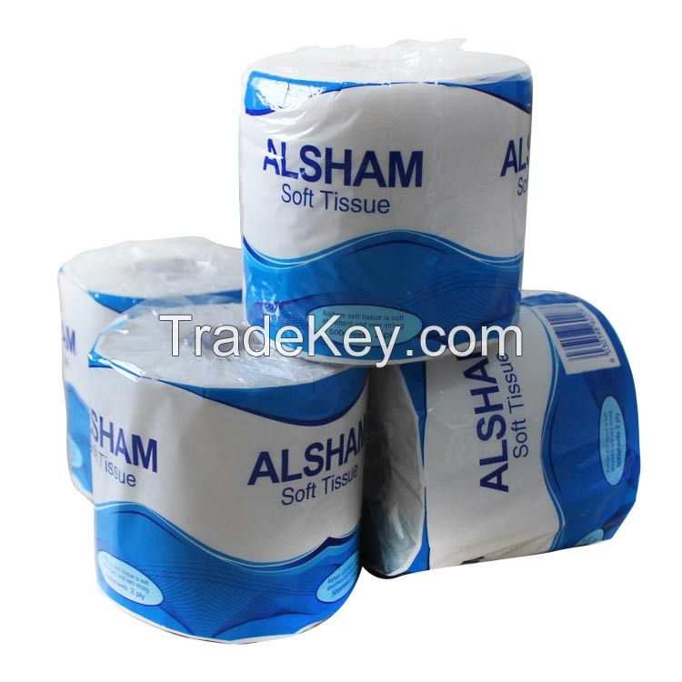 Soft toilet tissue paper