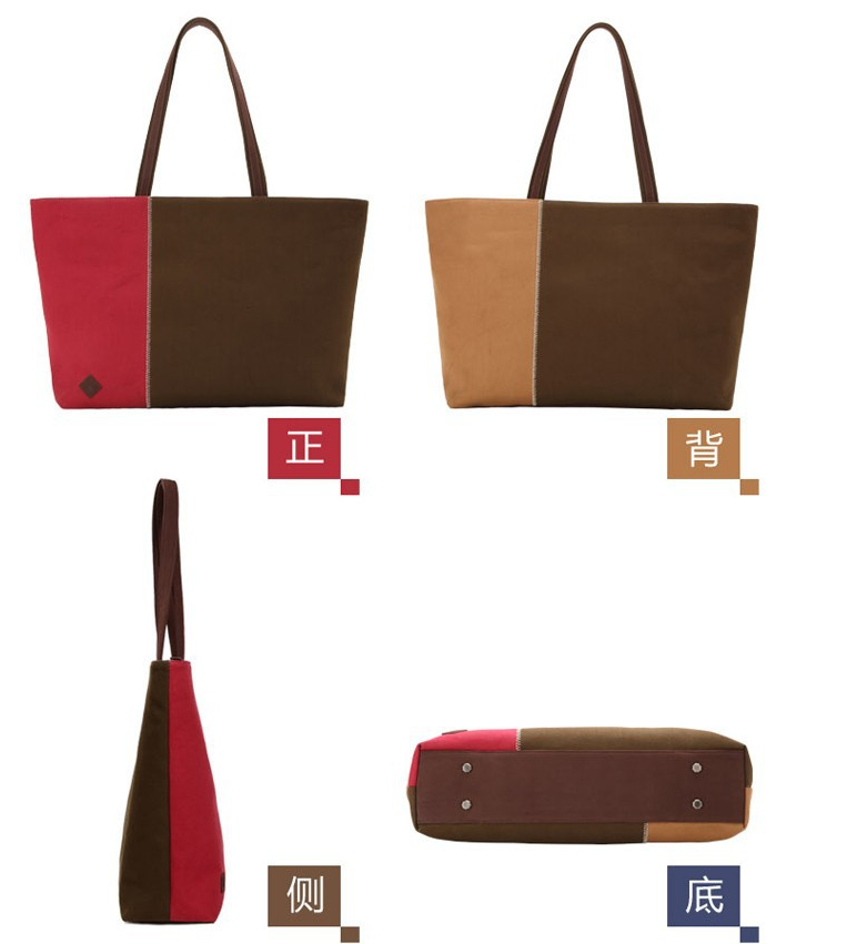 Canvas bag messenger bag handbags Mac book bags shoulder bag