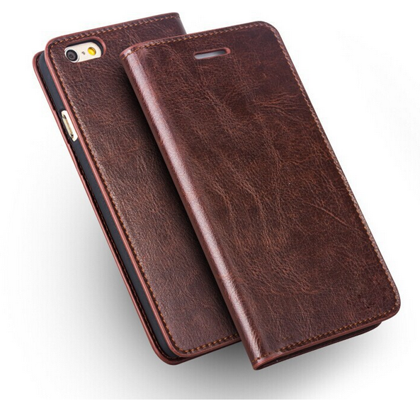 cow Leather Wallet Iphone 6 case Cover For iphone6 plus