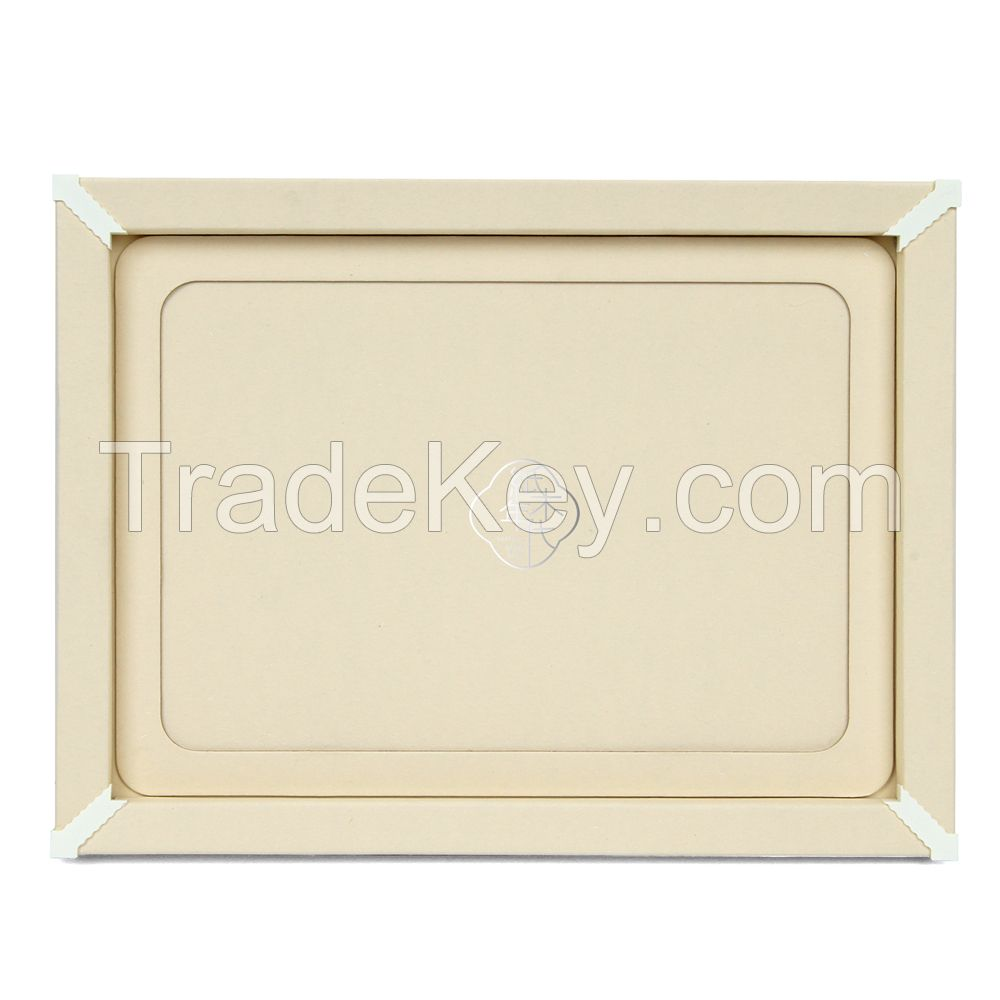 Paper&Wood Ages Ivory Style Cardboard Picture Frame, Picture Mats, Paper Picture/Poster Frame.Cardboard Removable Picture Photo Frame, Paper Photo Frame, Cardboard Photo Frame (Blu-Tack Included)