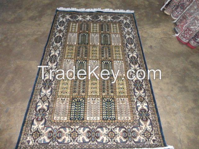 hand knotted viscose Rayon silk carpets