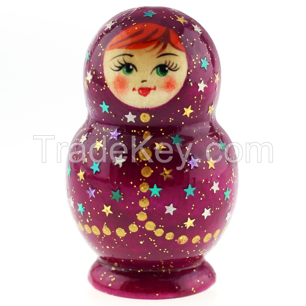 Magnet Matryoshka, nesting doll magnet, mix of wooden magnets