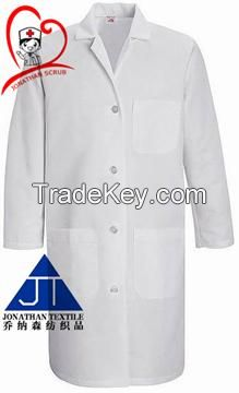 OEM customized doctor white lab coat hospital scrub medical uniform