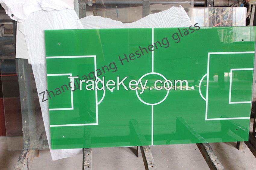 Printed Toughened glass
