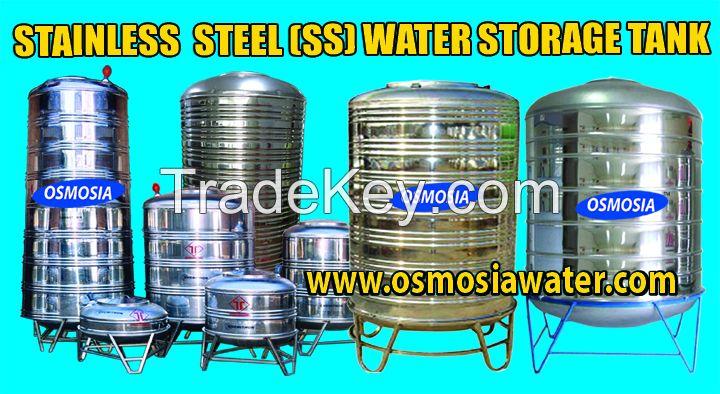 Stainless Steel Water Storage Tank Supplier