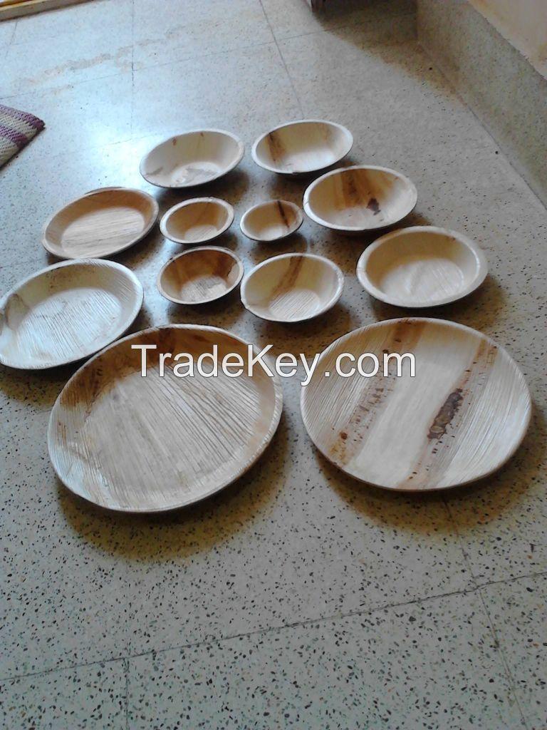 Natural Areca Leaf  Plates