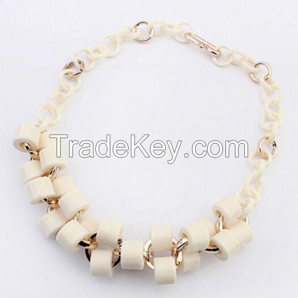 Wholesale handmade CCB necklace. NKE12159-C