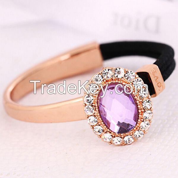 valentine's diamond crystal bracelet