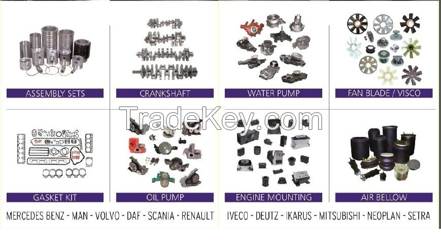Spare Parts for Bus