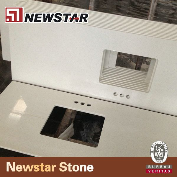 Artificial quartz stone table top,engineered  quartz stone