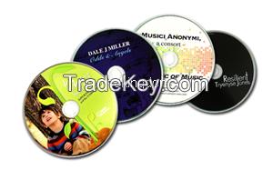 China CD printing machine DVD/CD duplicator tower with wide vinyl prin