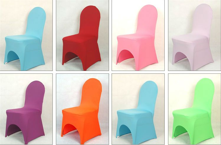 Wholesale cheap stretch banquet wedding lycra spandex chair cover decoration spandex chair band