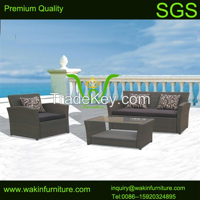 All weahter outdoor rattan sofa