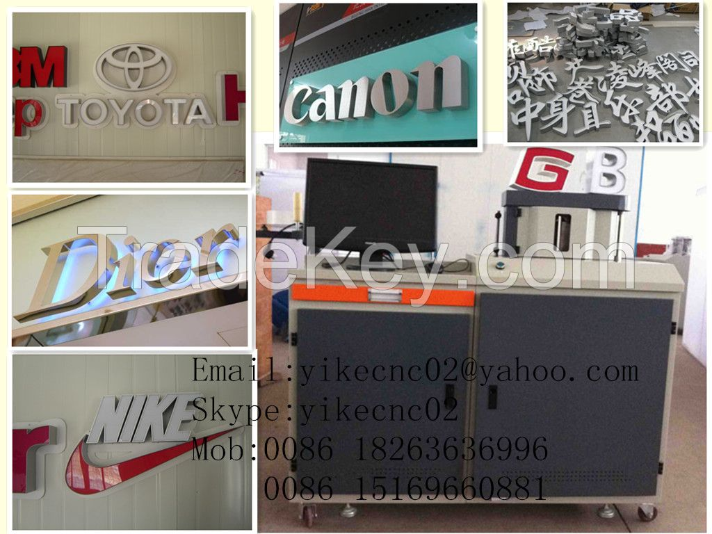 YIKE-6S-C Aluminum/Stainless Steel CNC Channel Letter Bending Machine
