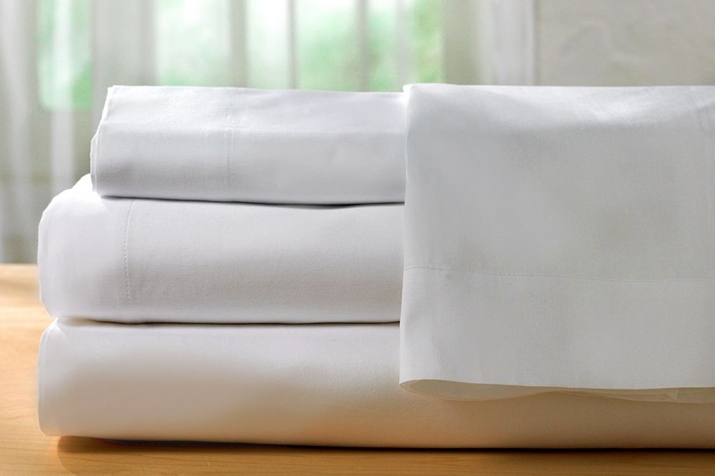 White Bed Sets, Sheets and Pillow Cases