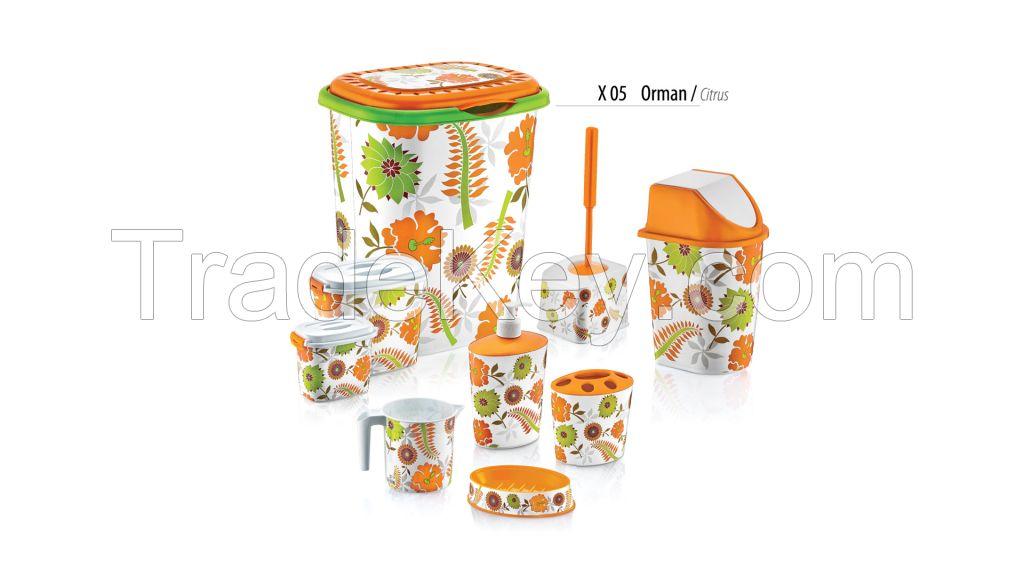 Bathroom Set 9 Piece