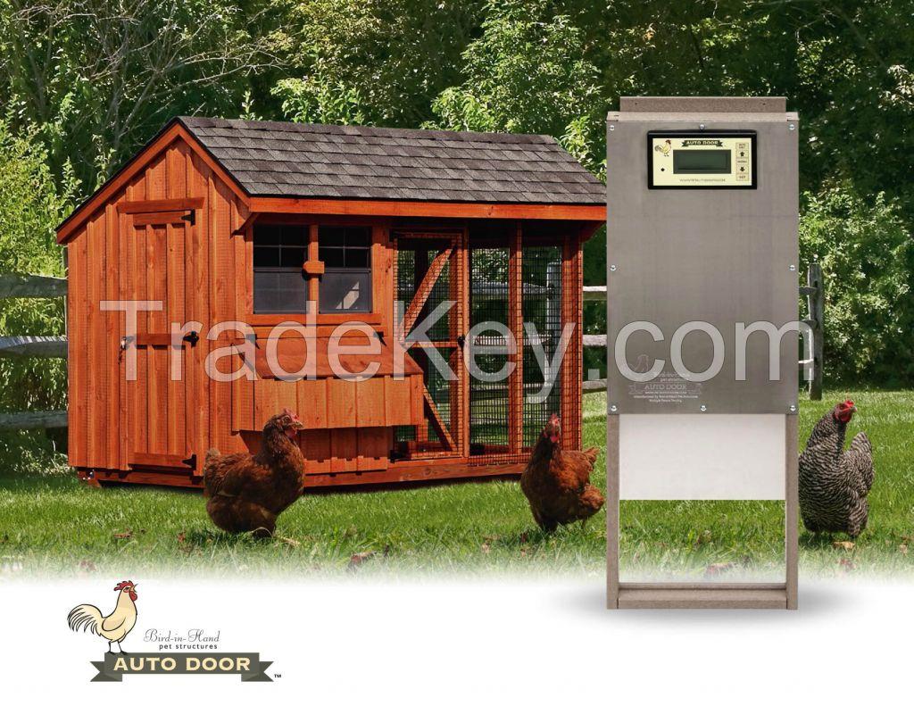 Dog Kennels, Chicken Coops, Auto Doors