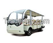 Advanced EV 14 passenger electric shuttle bus