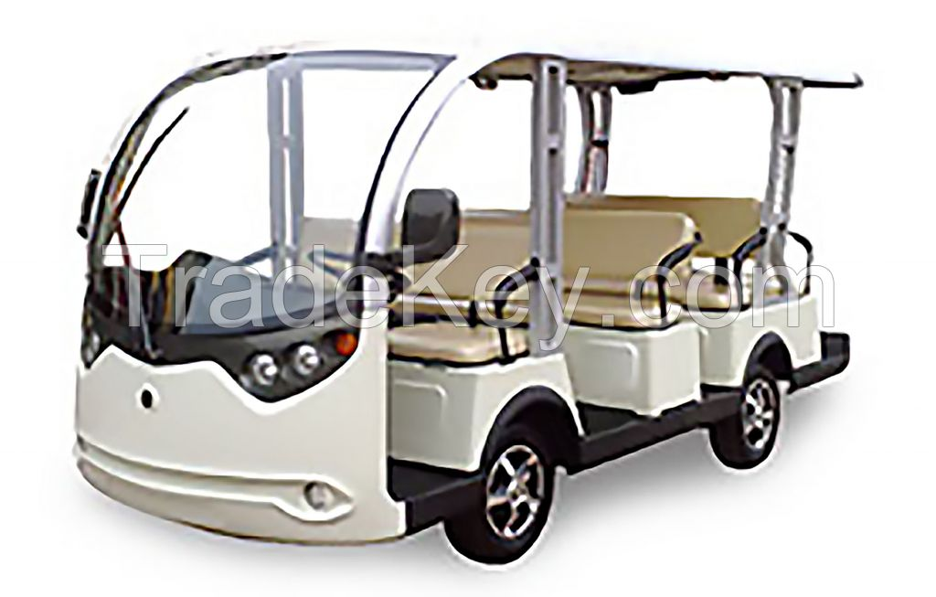 Advanced EV 11 passenger electric shuttle bus