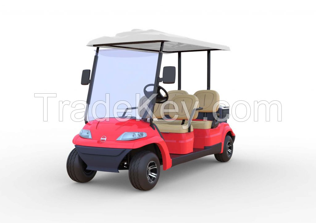 Advanced EV Golf Car 2 and 4 passenger personal electric vehicle
